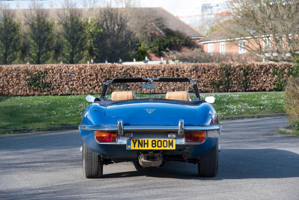 1973 Jaguar E-Type Series 3 V12 Roadster  Chassis no. 1S1901
