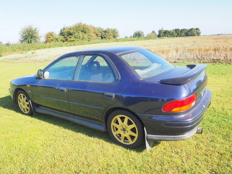 1996 Subaru Impreza Series McRae  Chassis no. JF1GC8KD3TG013576