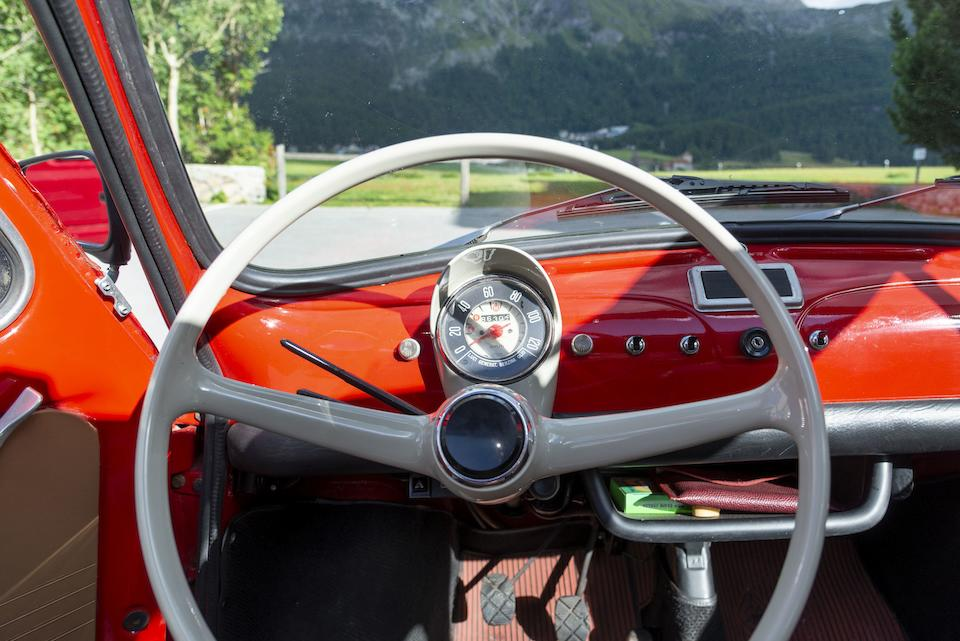 1965 FIAT 500F  Chassis no. 0879050