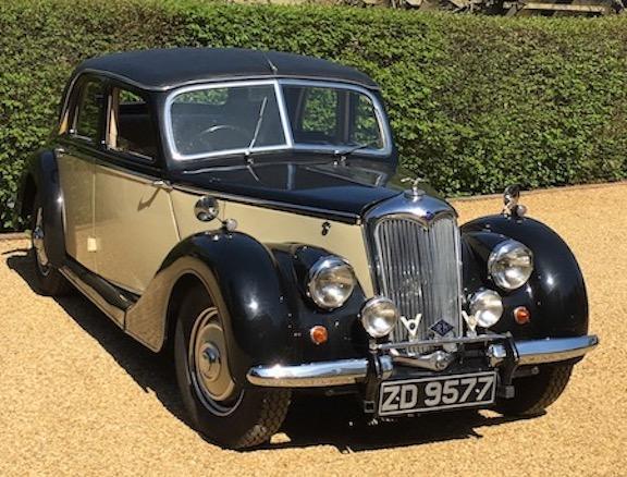 1948 Riley RMA  Chassis no. 36/5/10486