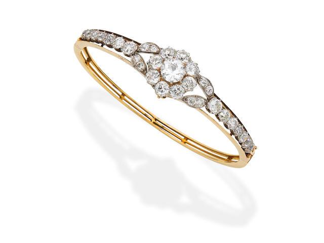 Diamond bangle,