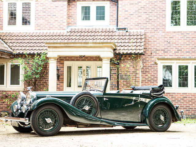 'The Nell Collection',1935 Alvis Speed 20SC   Chassis no. 12050