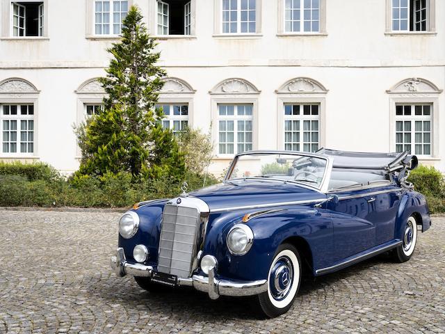 1952 Mercedes-Benz 300 'Adenauer' Cabriolet D  Chassis no. 18601401640/52