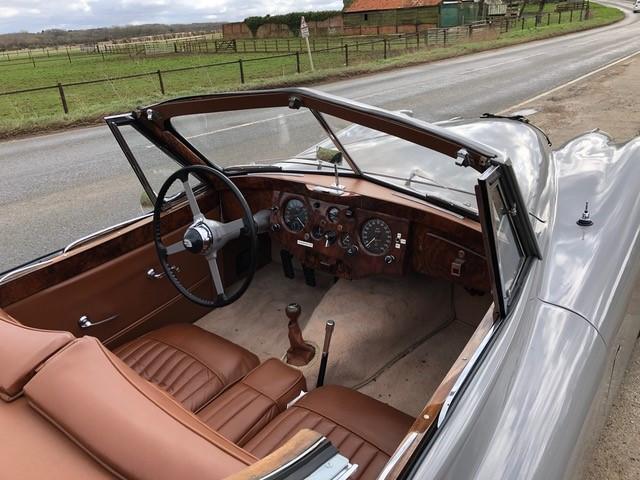 1953 Jaguar XK120 Drophead Coupé   Chassis no. 677636