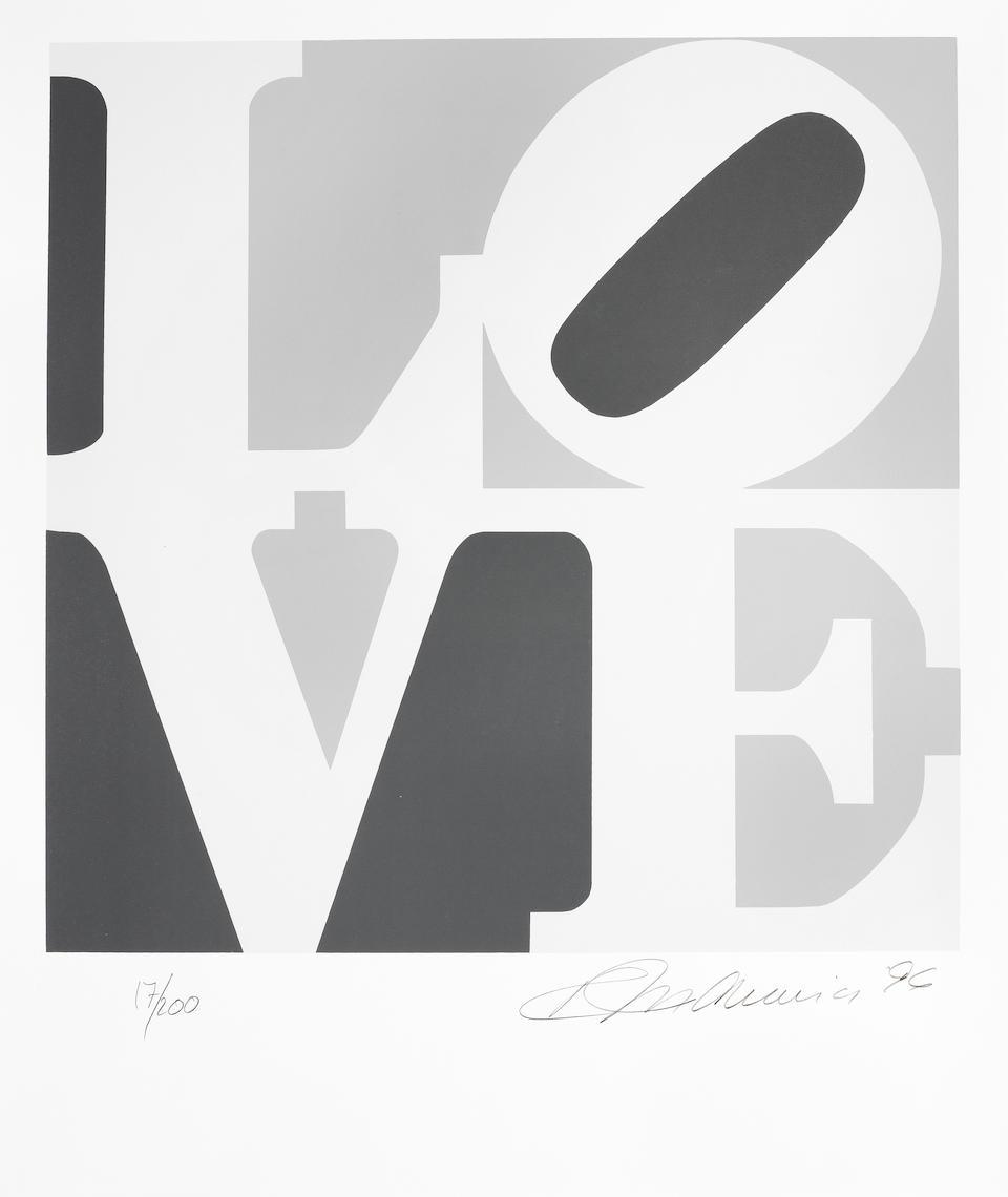 Robert Indiana (1928-2018) The Book of Love, 1996