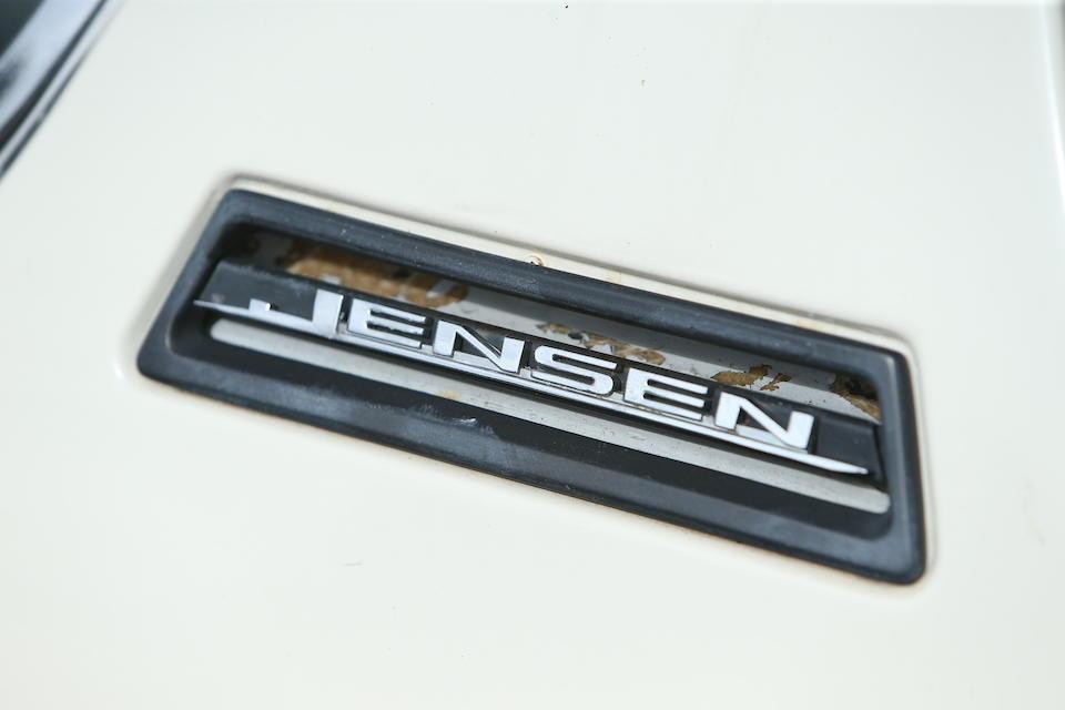 1971 Jensen Interceptor III  Chassis no. 1284652