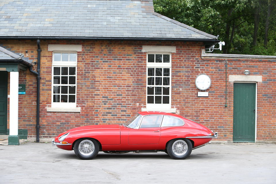 1962 Jaguar E-Type Series I 3.8-Litre Coupé   Chassis no. 886335