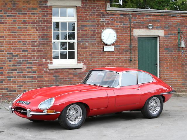 1962 Jaguar E-Type Series I 3.8-Litre Coupé   Chassis no. 886335