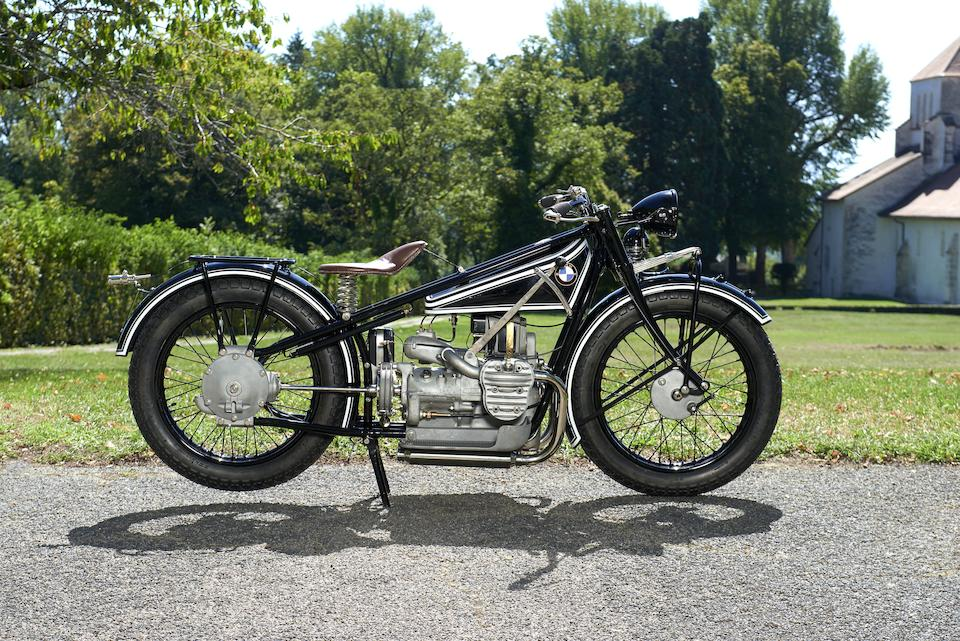 1927 BMW 494cc R42 Frame no. 12564 Engine no. 42620