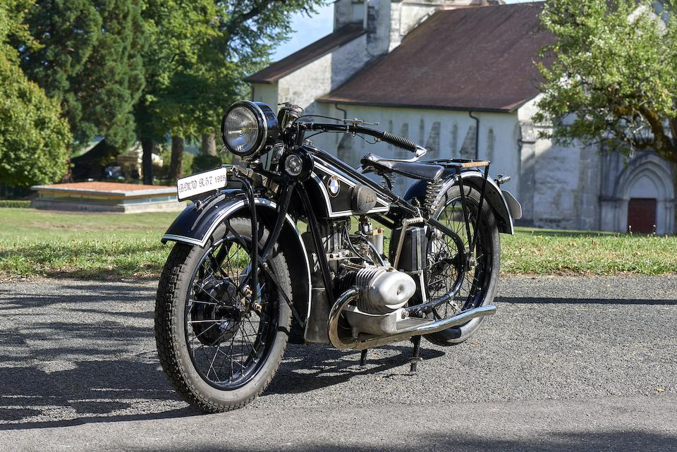 1928 BMW 500cc R57 Frame no. 21872 Engine no. 70458