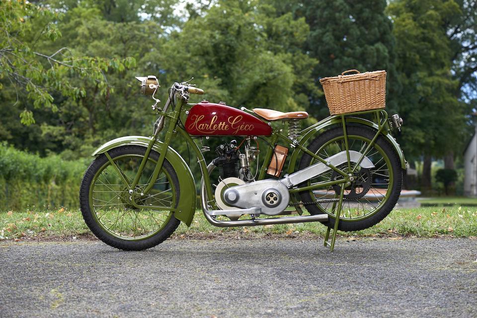1926 Harlette-Géco 175cc Super Sport Frame no. 1152