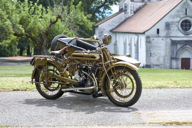 1921 Motosacoche  1,000cc 2C9 Motorcycle Combination Frame no. 3170 Engine no. 2C9A 65749