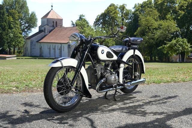 1952 BMW 494cc R51/3 Frame no. 527066 Engine no. 527066