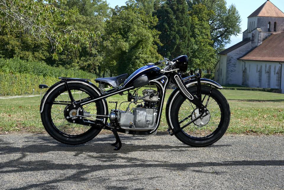 1931 BMW 198cc R2 Frame no. P18056 Engine no. 2934
