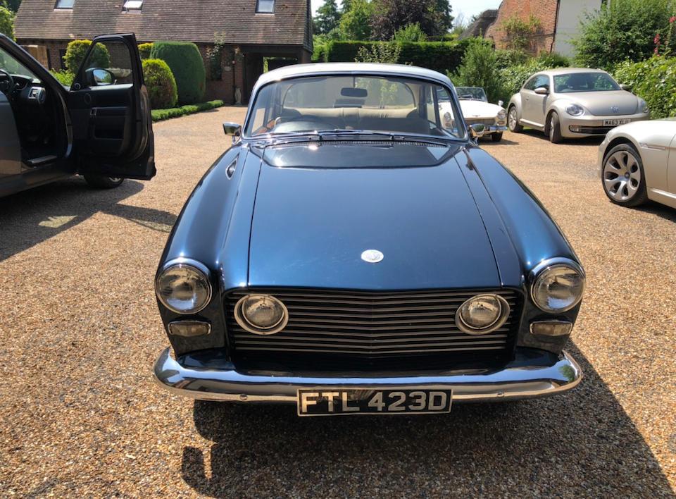 1966 Bristol 408 Sports Saloon  Chassis no. 408-7206