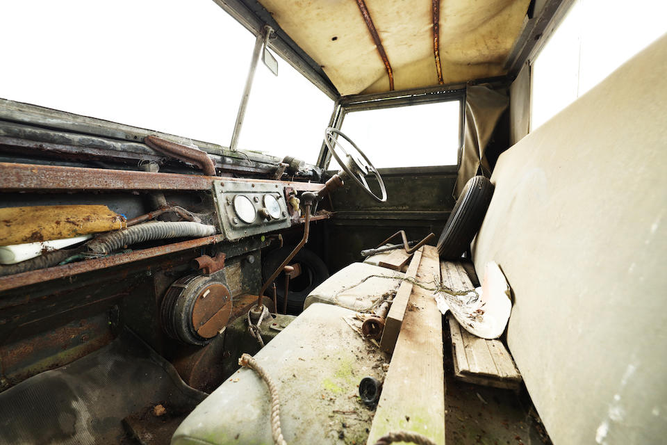 1955 Land Rover 86 Utility 2-Axle Rigid Body  Chassis no. 57106969