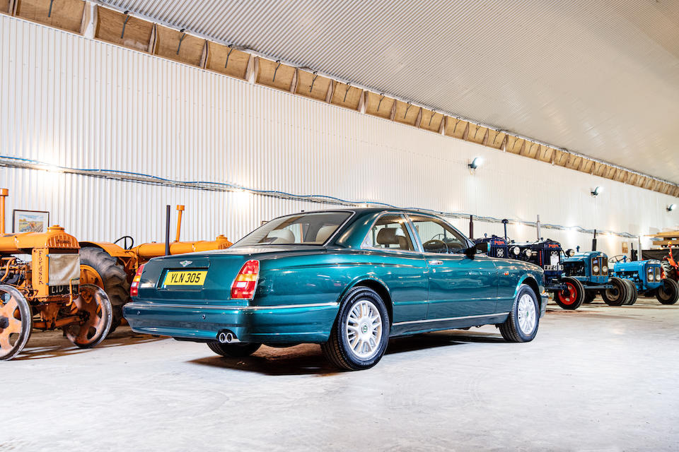 1999 Bentley Continental R Coupé  Chassis no. SCBZB15EIXCH63154