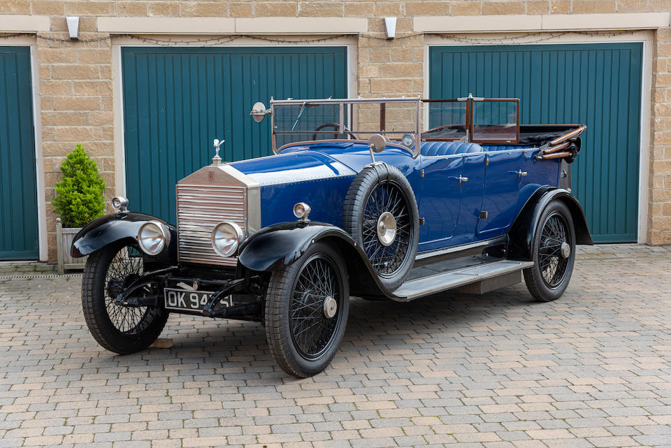 1922 Rolls-Royce 20HP Tourer  Chassis no. 68H4