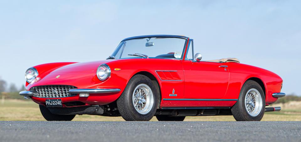 1967 Ferrari 330 GTS  Chassis no. 10113