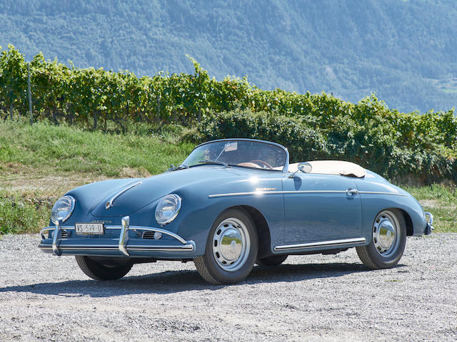 1956  Porsche  356A 1600S T1 Speedster  Chassis no. 82835 Engine no. 88522