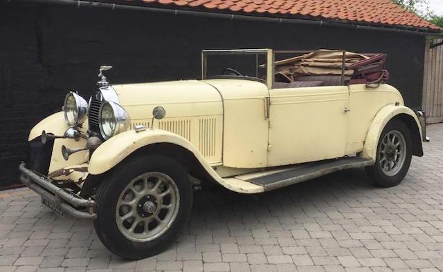 1930 Talbot-Darracq K74  Chassis no. 72920