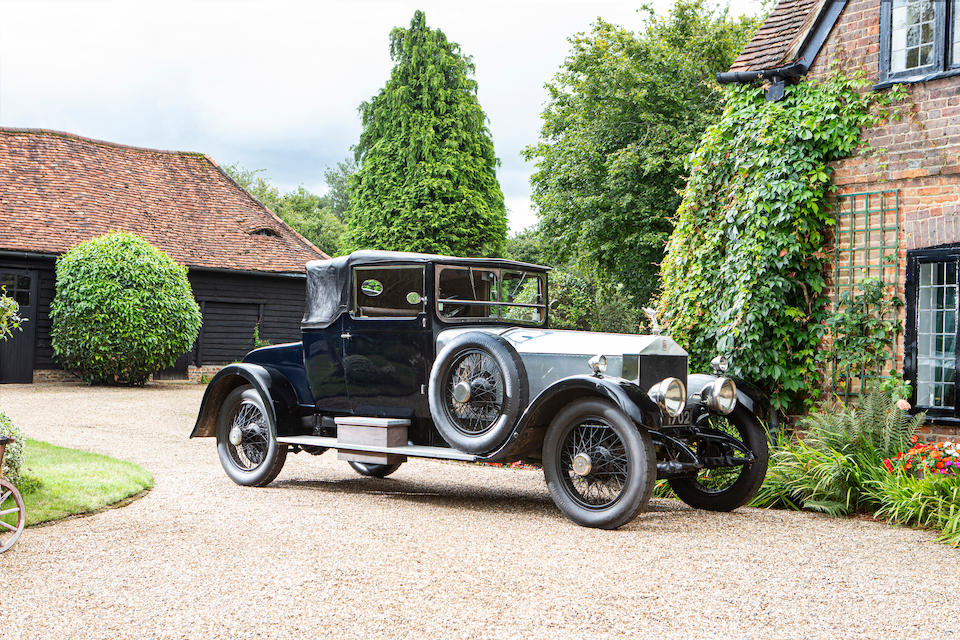 1920/21 Rolls-Royce 40/50hp Silver Ghost Doctor's Convertible Coupé  Chassis no. 26TE