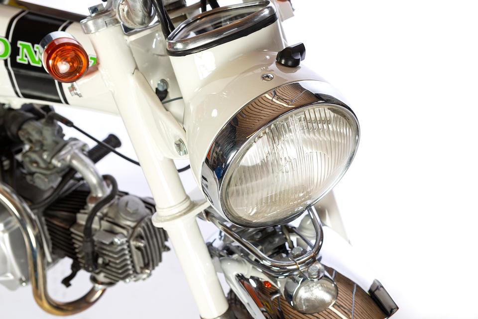 1975 Honda ST50 'White Lady' Dax 72cc Frame no. ST50-669297 Engine no. ST70E-105428