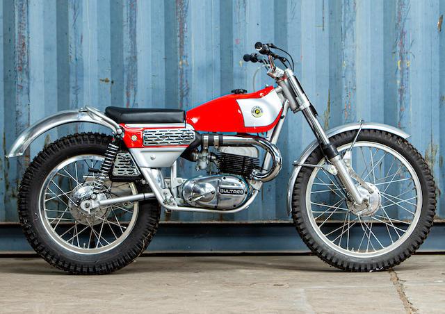 c.1971 Bultaco 250cc Sherpa Trials Motorcycle Frame no. B-4902580 Engine no. M-4903320
