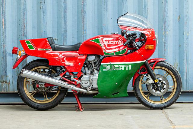 1983 Ducati 864cc Mike Hailwood Replica Frame no. DM900R 984269 Engine no. 096509