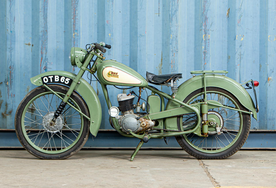 Offered from the Collection of Carole Nash,c.1952 BSA Bantam 123cc D1 Frame no. YD1S 75586 Engine no. to be advised
