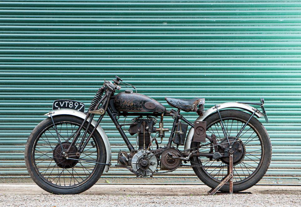 1936 Tommy Spann Special AJS 498cc Frame no. 89996 Engine no. T.S.S. No.2