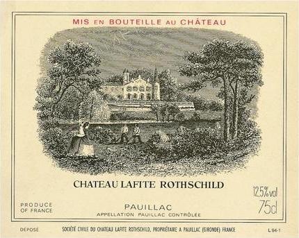 Château Lafite Rothschild 2004, Pauillac 1er Grand Cru Classé (6)