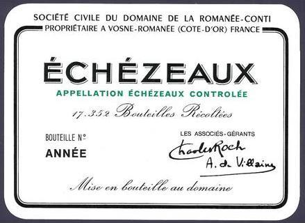 Echézeaux 2013, Domaine de la Romanée-Conti (3)