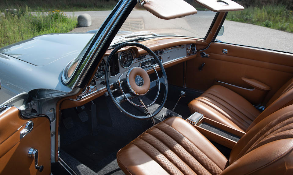 'Kundenwunsch'-ordered,1966 Mercedes-Benz 230 SL 'Pagoda' ZF 5-speed with Hardtop  Chassis no. 113-042-10-017125 Engine no. 127.981-10-013218