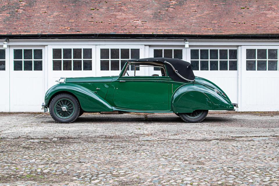The ex-Alan Good,1938 Lagonda V12 Drophead Coupé  Chassis no. 14036
