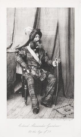 Soldier and Traveller: Memoirs of Alexander Gardner, Colonel of Artillery in the Service of Maharajah Ranjit Singh William Blackwood & Sons, Edinburgh, 1898