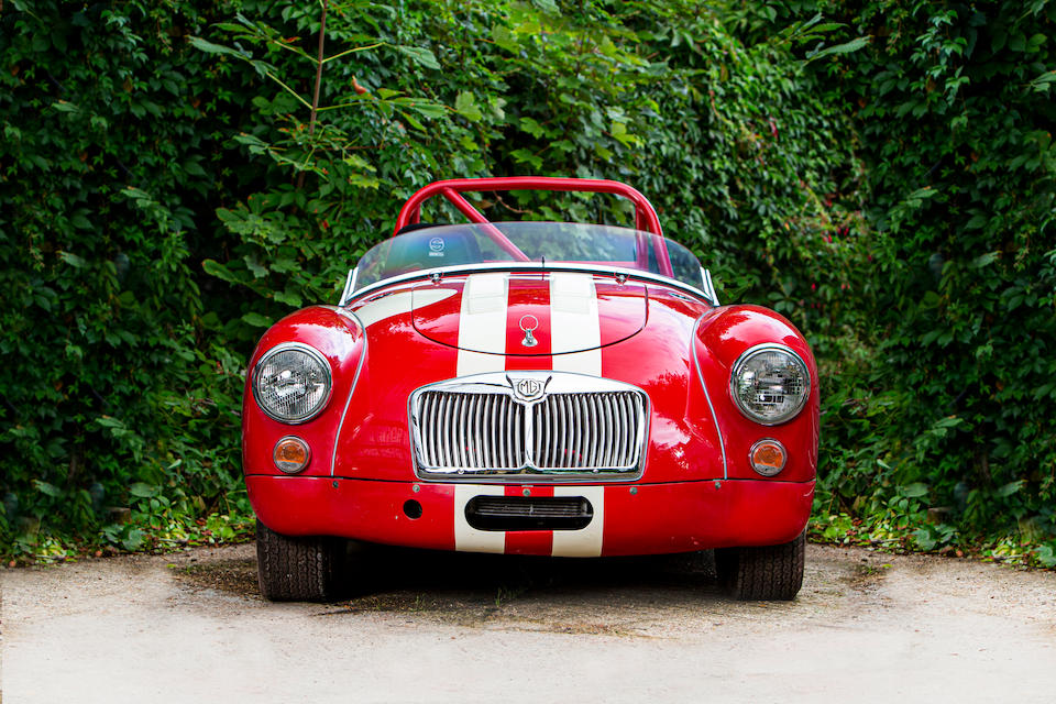 1960 MGA FIA Competition Roadster  Chassis no. GHN/91842