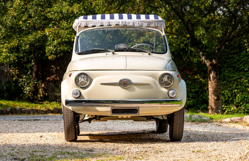 1963 FIAT 500 Jolly Beach Car  Chassis no. 273192