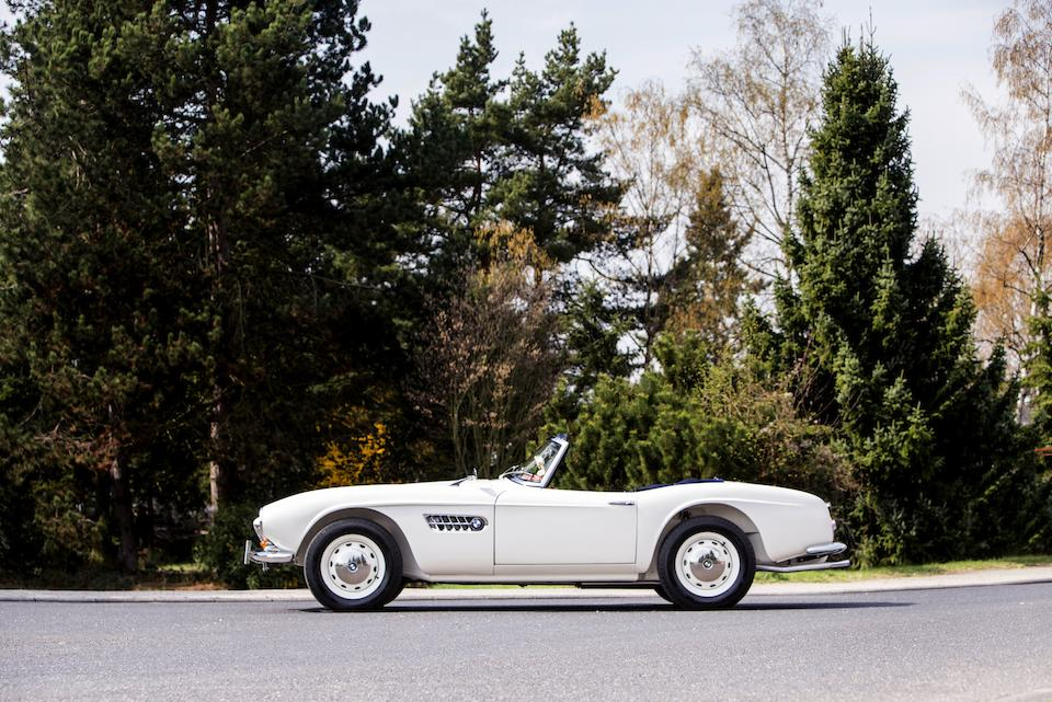 Sold new to HRH Prince Constantine II of Greece,1959 BMW 507 Series II Roadster  Chassis no. 70227