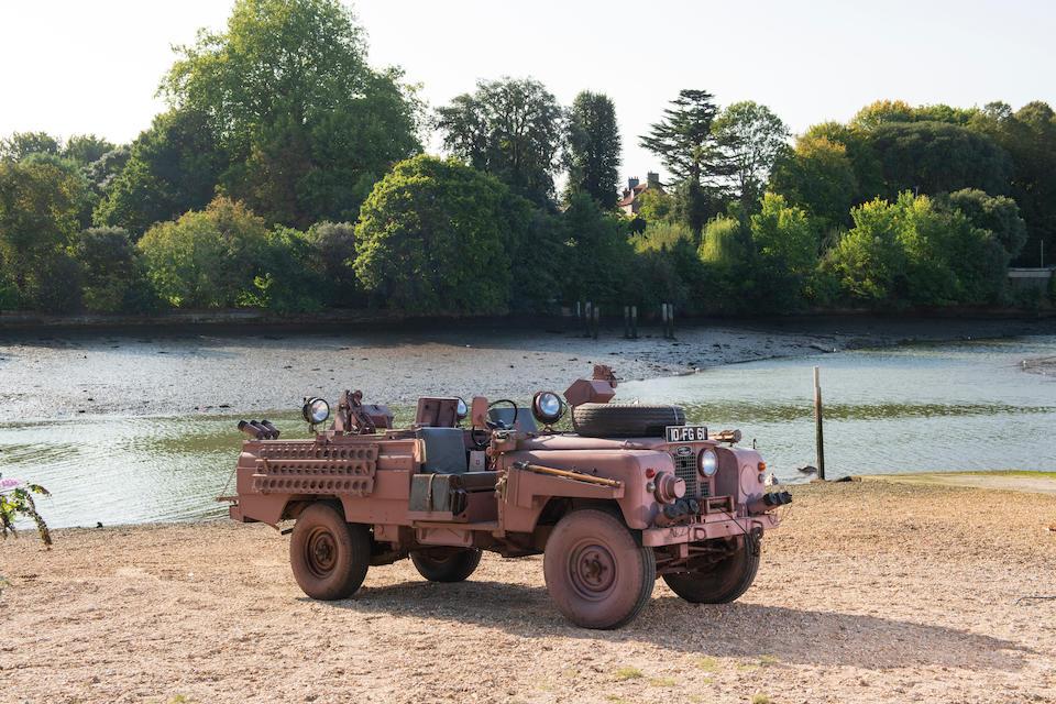 "c.1962 Land Rover Series IIA 109"" SAS Military 4x4  Chassis no. 25113989D"