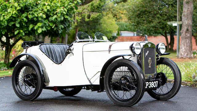 1929 Austin Seven Ulster Replica  Chassis no. 134035