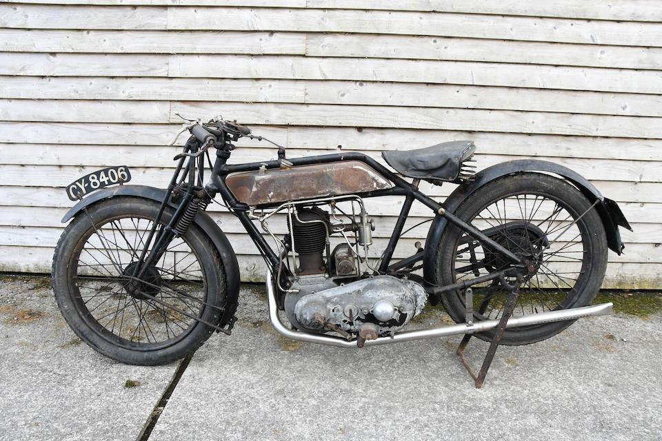 1925 Sunbeam 3½hp Model 6 'Pendine Sprinter' Frame no. 08519 Engine no. 270/18302