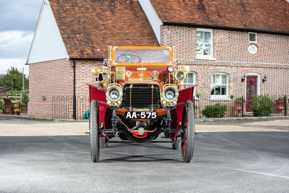 1903 Thornycroft 20hp Four-Cylinder Double Phaeton  Chassis no. BZ 14