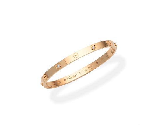 Cartier: diamond 'Love' bangle (2)