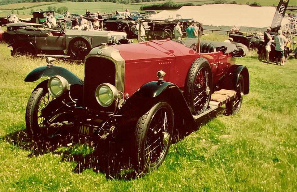 Property of a distinguished gentleman,1924 Vauxhall 30-98 OE-Type Velox Tourer  Chassis no. OE165