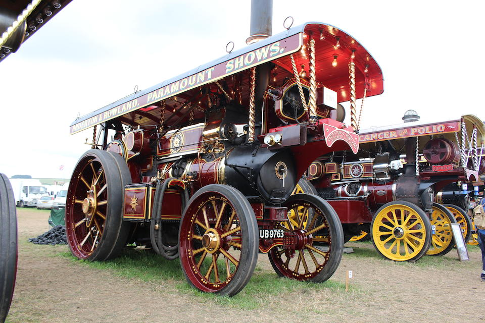 1932 Fowler 10hp B6 Showman's Road Locomotive 'The Lion'   Chassis no. Serial no. 19782