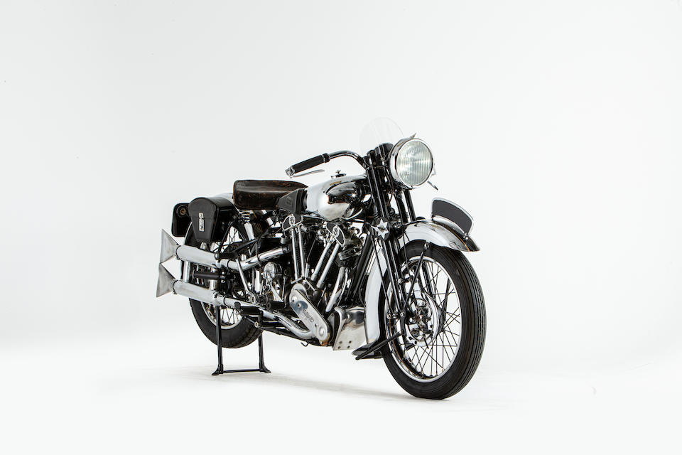 Offered from the National Motorcycle Museum Collection,1936 Brough Superior 982cc SS100 Frame no. M1/1661 Engine no. BS/X 1001