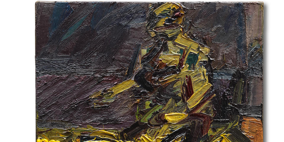 Success for Frank Auerbach at Bonhams Post-war & Contemporary Art Sale