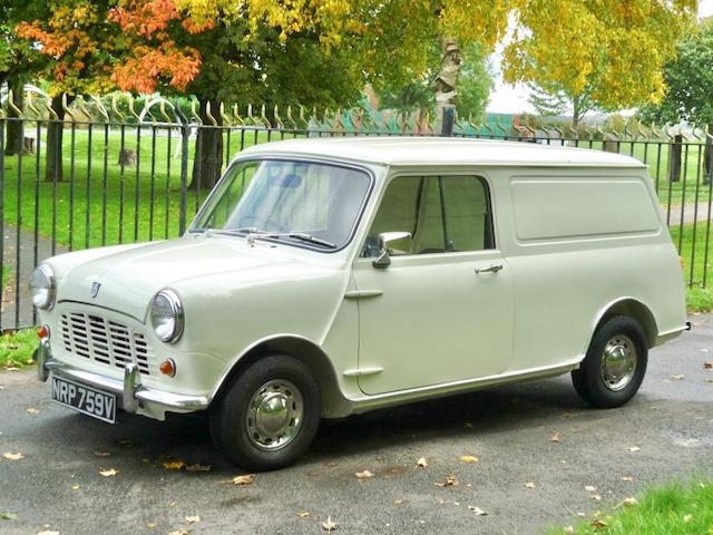 1979 Mini 850 Van  Chassis no. V/146844L