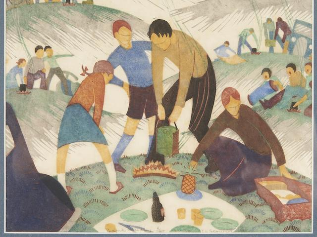 Ethel Spowers (1890-1947) Bank Holiday, 1935